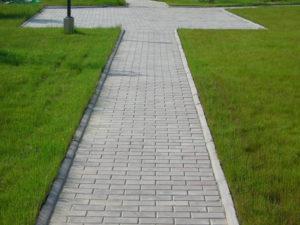 "Тротуарная плитка ""Кирпичик"""